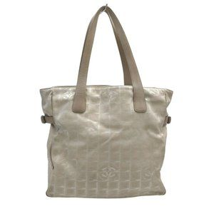Auth Chanel New Travel Line Tote Bag #N79718H73